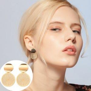 Jewelry - Geometric Circle Laser Cut Earrings